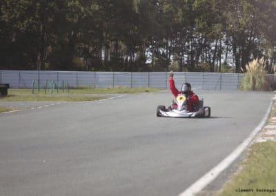 Gagnant de la course