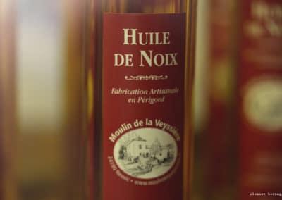 L'huile de noix du Moulin de la Veyssière